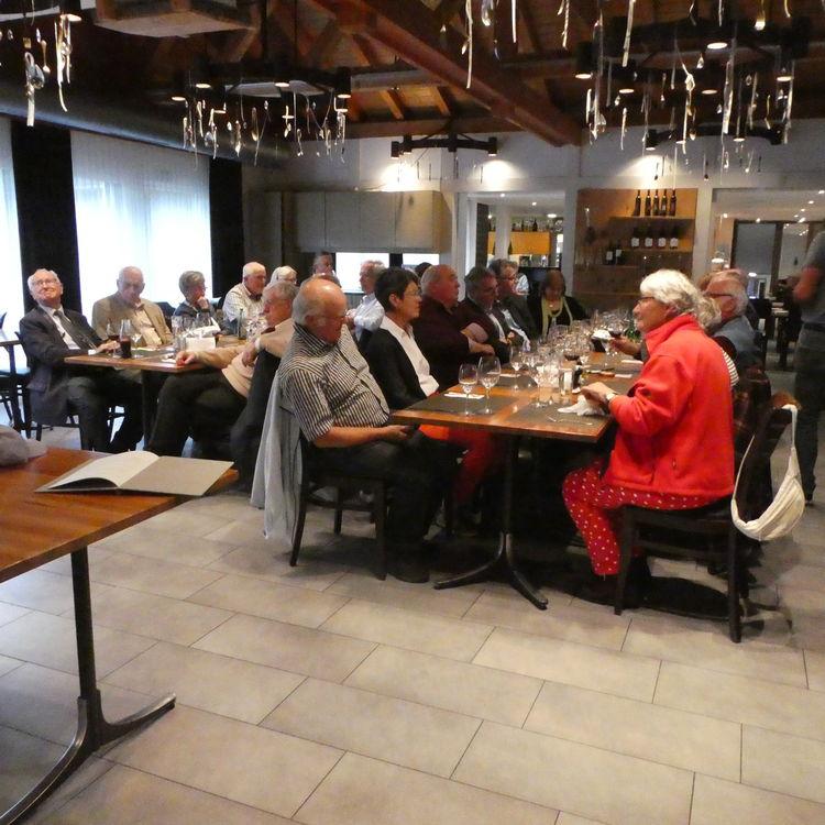FDP Senioren Besuch bei der REGA-Basis Untervaz