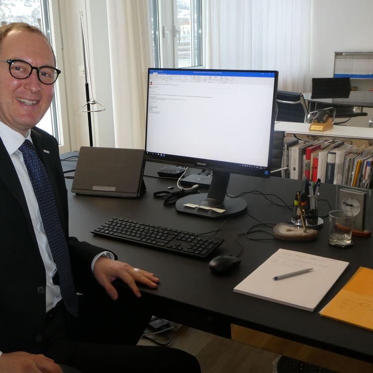Christian Rathgeb fürs Jahr 2020 Bündner Regierungspräsident
